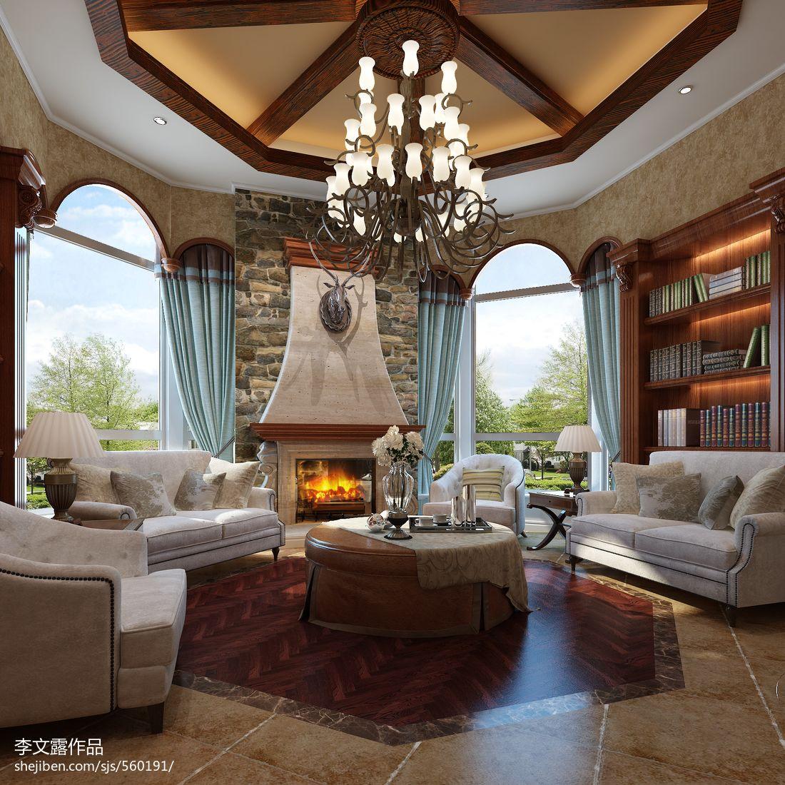 精致奢华欧式卧室装饰设计