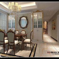 精选140平方四居餐厅混搭装修设计效果图