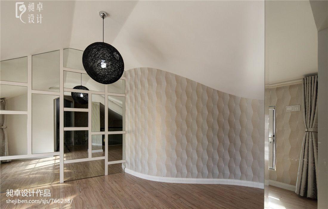 现代简约复式楼阁楼装修效果图