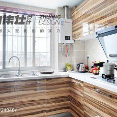 精美79平米二居厨房混搭实景图片欣赏
