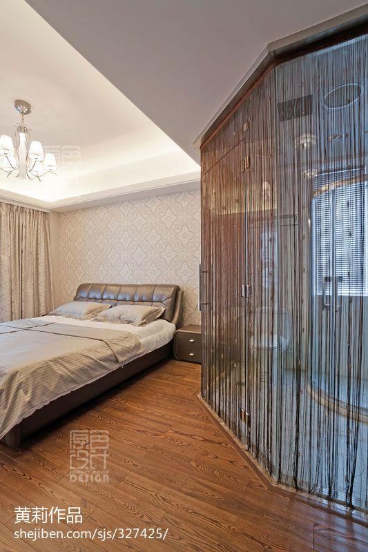 热门140平米四居卧室混搭装修欣赏图片大全