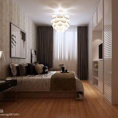 120平米宜家风格室内书房设计效果图