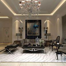 美式装修客厅效果图欣赏