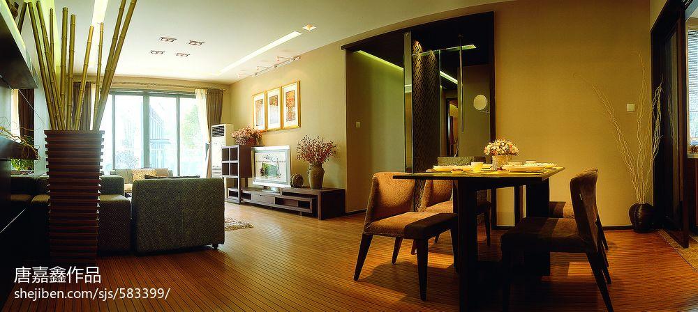 典雅东南亚风格玄关设计