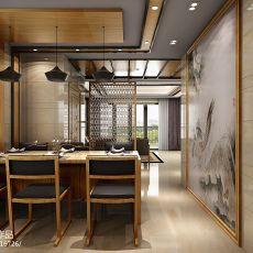 精美95平方三居餐厅混搭装修图