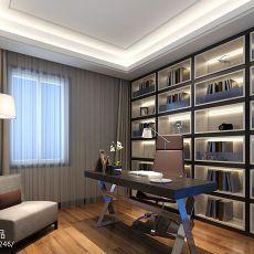 室内装修书房效果图