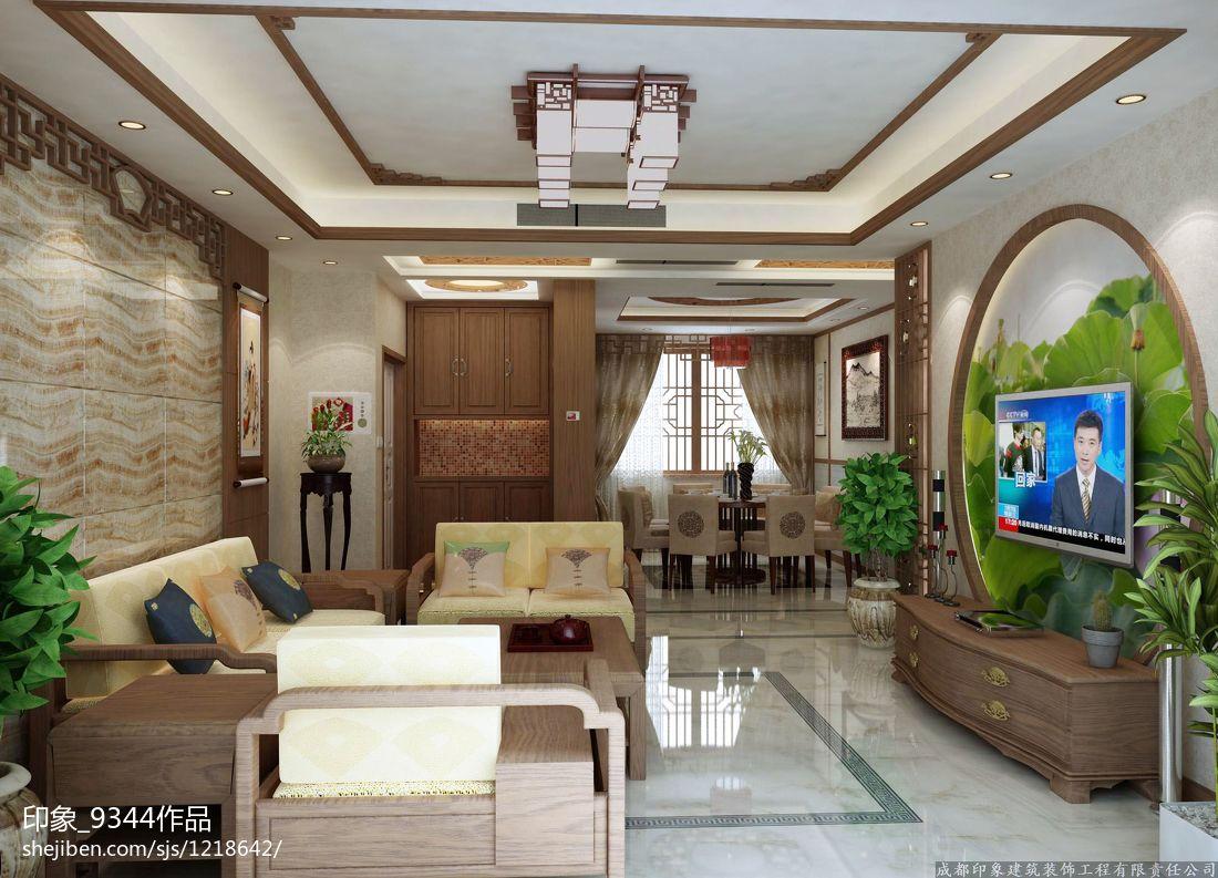 美式装饰卧室图