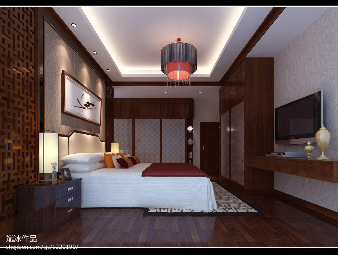 现代风格质感优越小卧室图片
