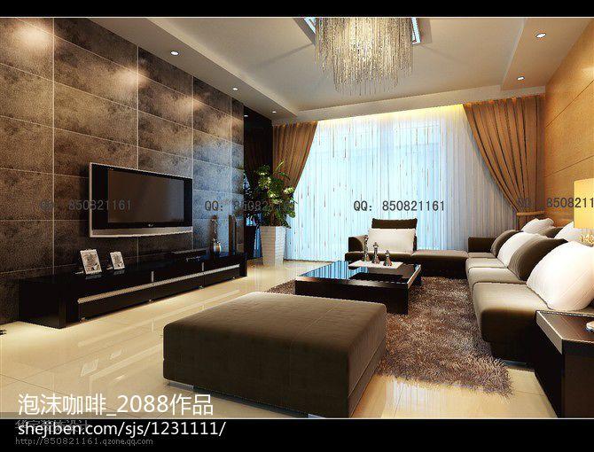 日式风格客厅创意设计图大全