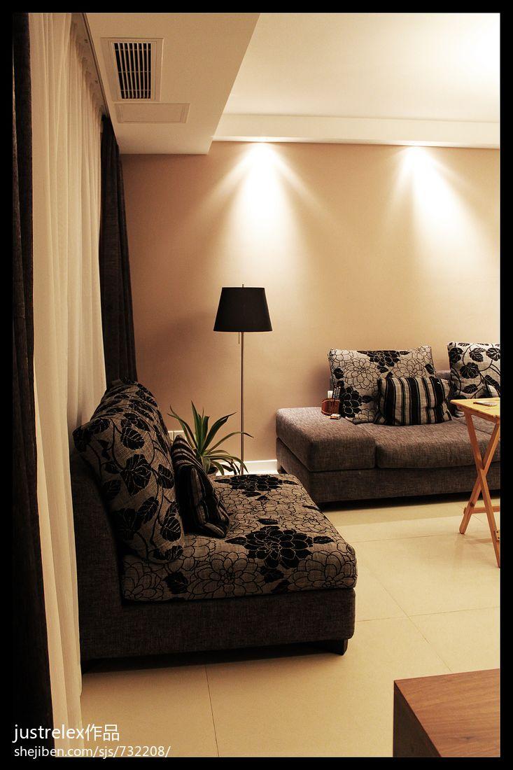 个性混搭风格一居室装修效果图
