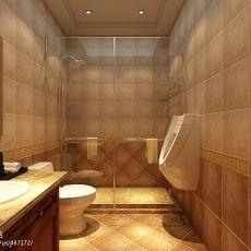 精选美式别墅卫生间装修设计效果图