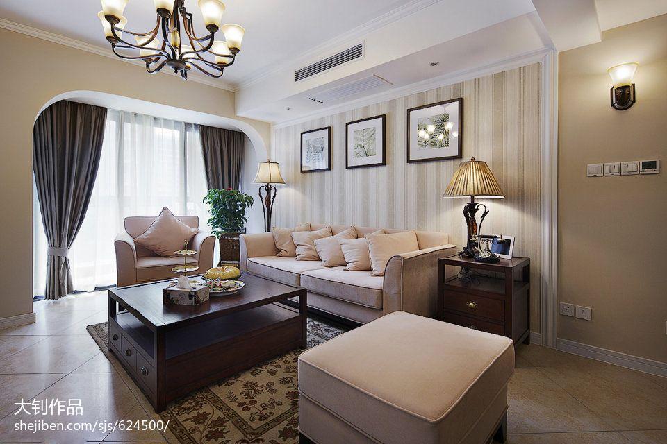 精选混搭3室客厅装饰图片欣赏109平