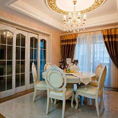 精美面积123平别墅餐厅欧式效果图片