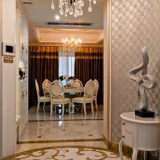 精选110平米欧式别墅玄关装修设计效果图片大全