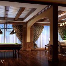 热门130平方欧式别墅休闲区装修实景图片欣赏