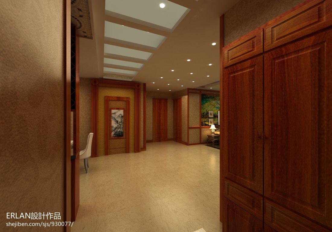 欧式典雅二居室设计效果图