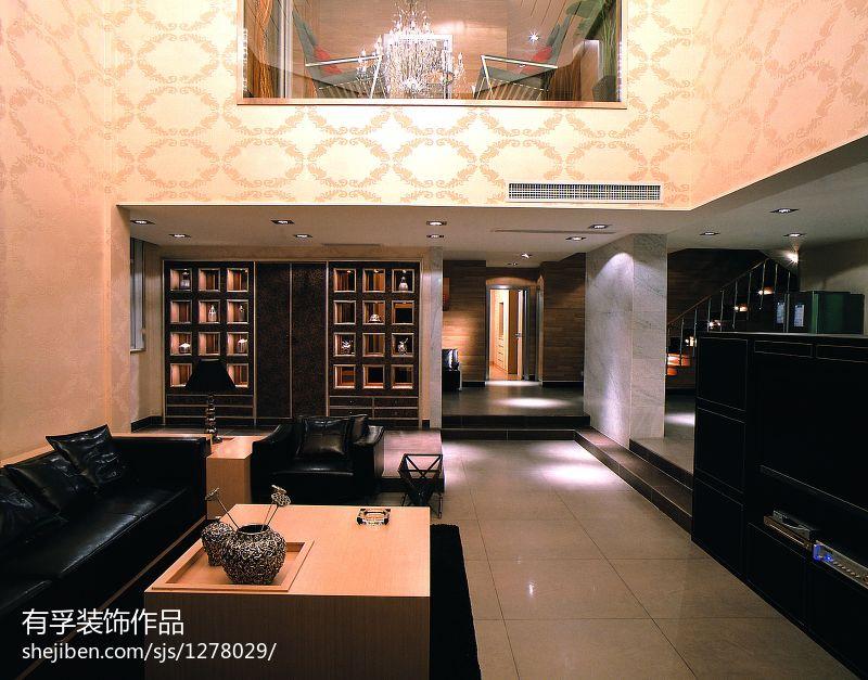 东南亚风格室内特色背景墙效果图