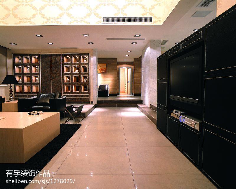 东南亚风格特色墙面设计图