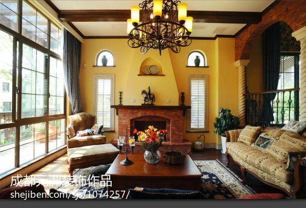 热门面积115平别墅中式装修欣赏图片大全