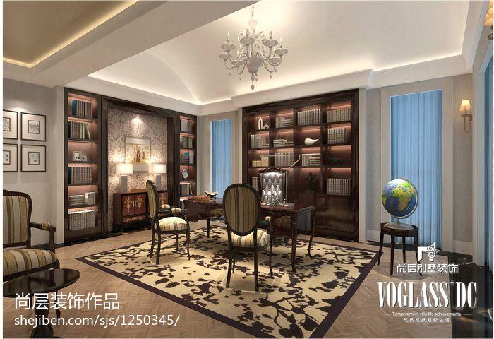 豪华时尚新古典风格卧室电视背景墙装修效果图