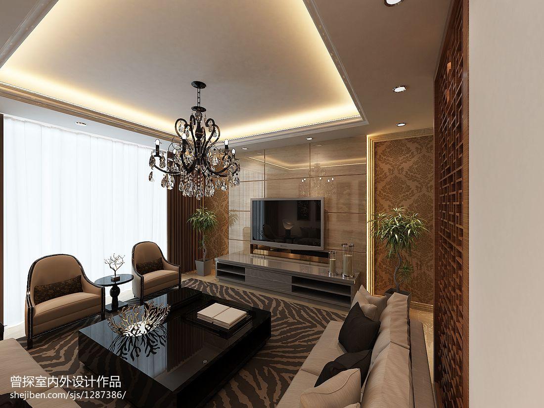 时尚现代设计卧室效果图