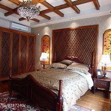 精美四居卧室东南亚装修图片欣赏