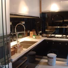 精美115平米现代复式厨房装修图