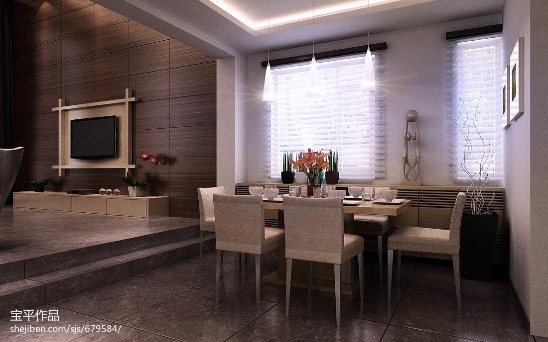 2018面积127平别墅客厅现代装修图片欣赏