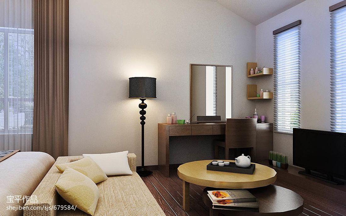 精美面积135平别墅卧室现代欣赏图片大全