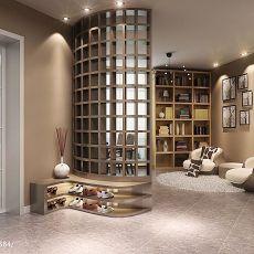 热门面积99平现代三居书房效果图片欣赏