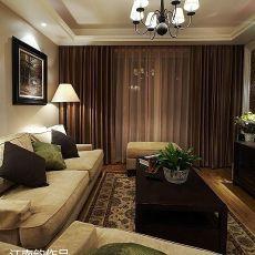 热门106平大小客厅三居现代装修效果图片欣赏