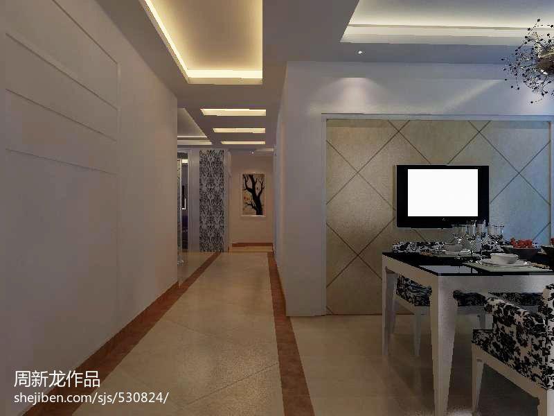 现代风格装修设计餐厅图