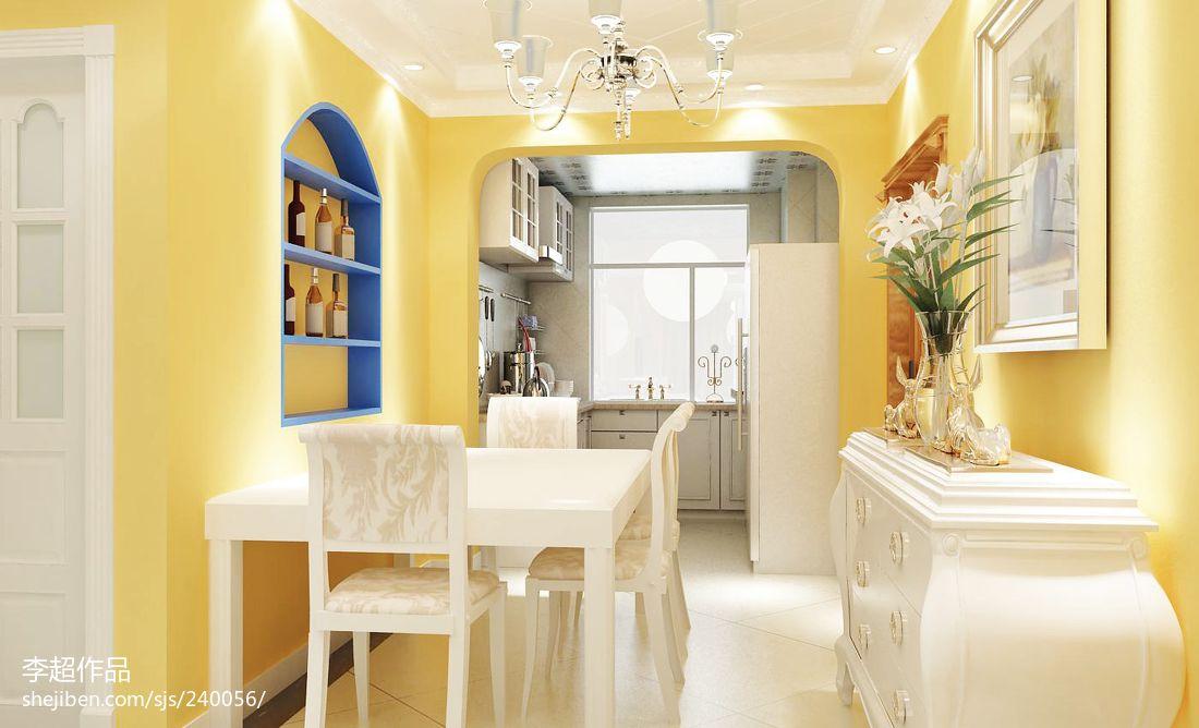 精美面积71平地中海二居客厅装修实景图片