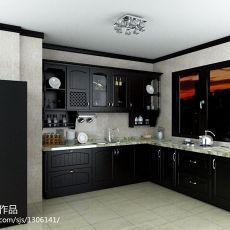 热门90平米二居厨房欧式装饰图片大全