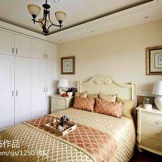 热门美式别墅卧室装修实景图片