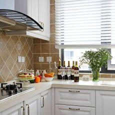 时尚美式厨房装修效果图