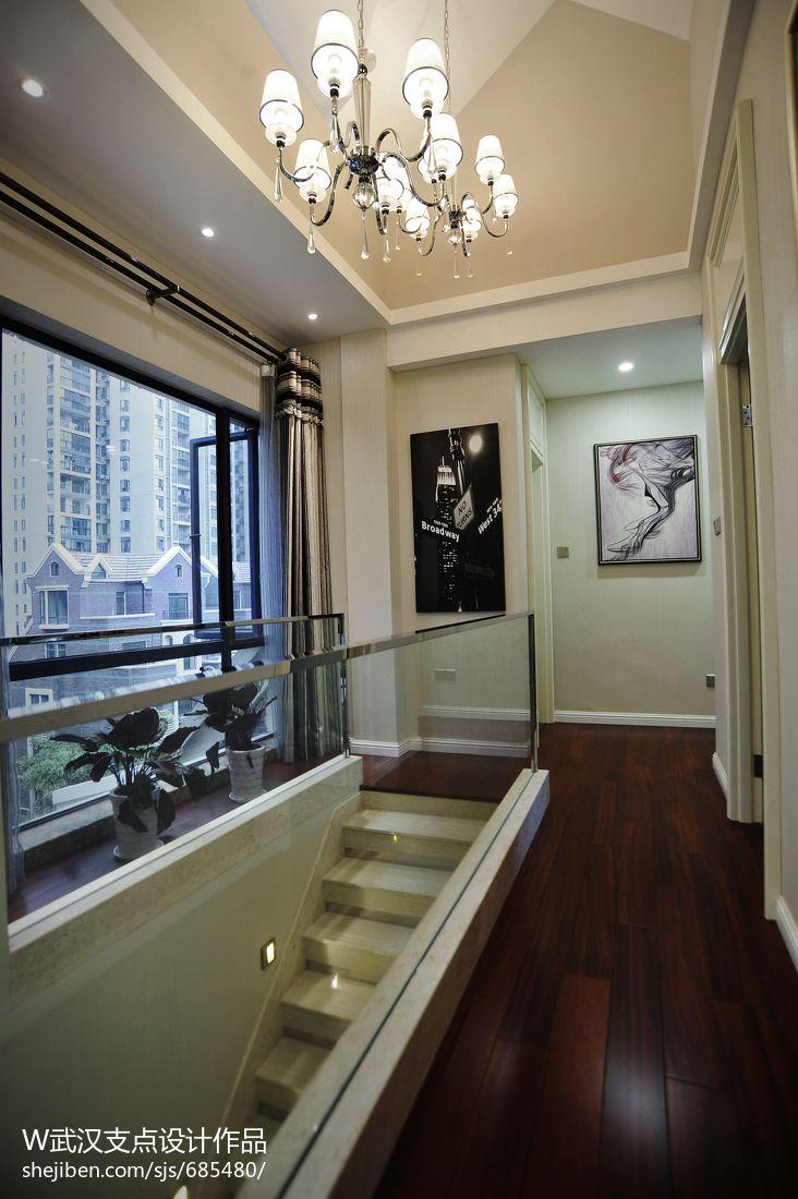 時尚現代復式樓樓梯裝修圖