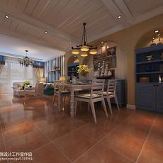 精美面积83平混搭二居餐厅装修欣赏图片大全