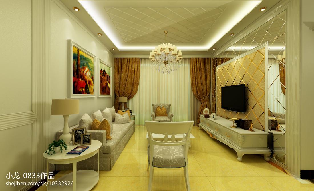 东南亚风格浴室背景墙设计