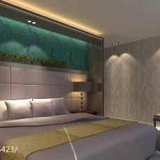 床头背景墙装修效果图