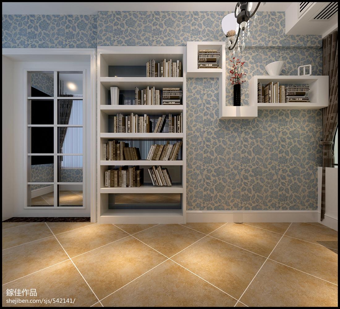 现代风卧室设计装修效果图