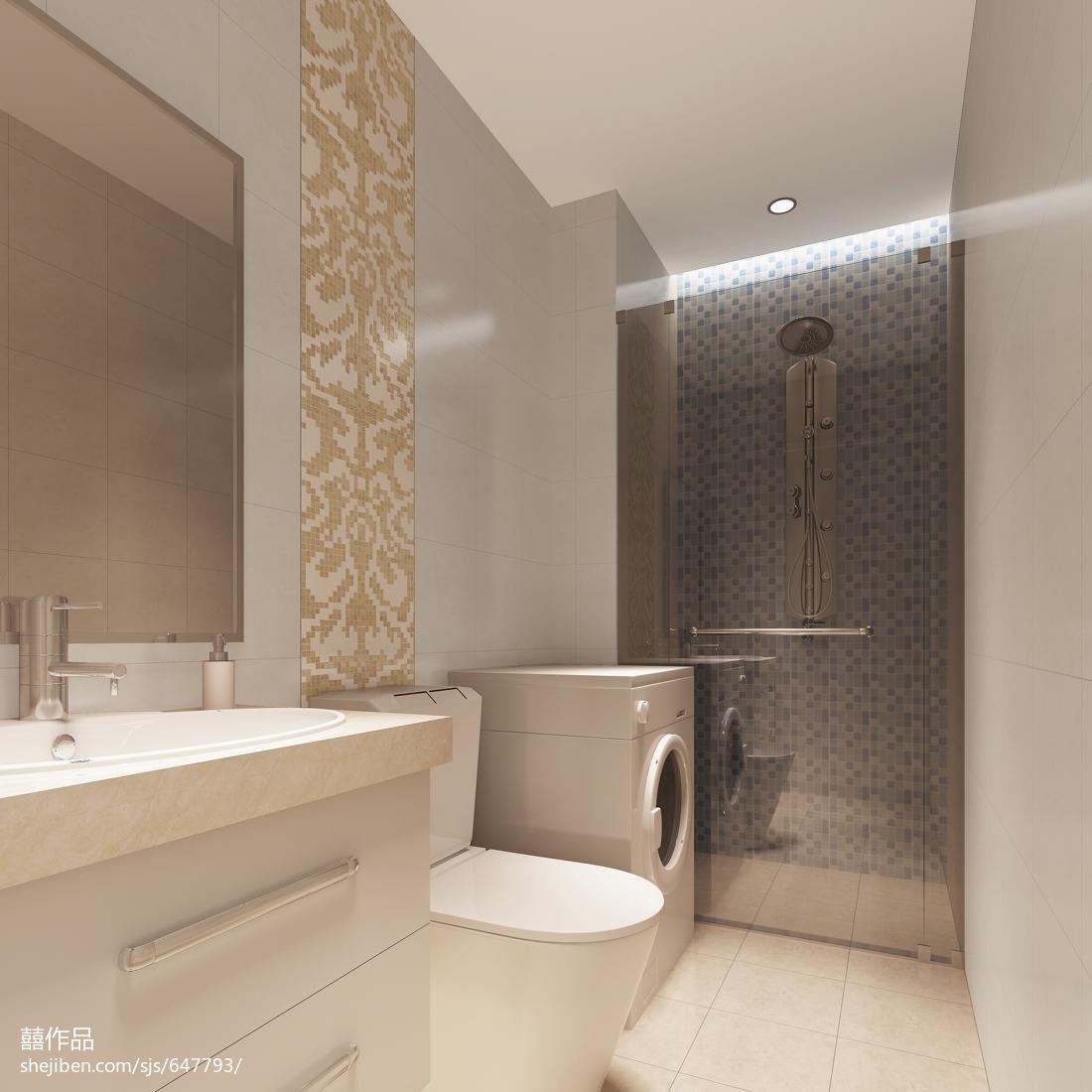 简约风格卫生间室内设计装饰图片