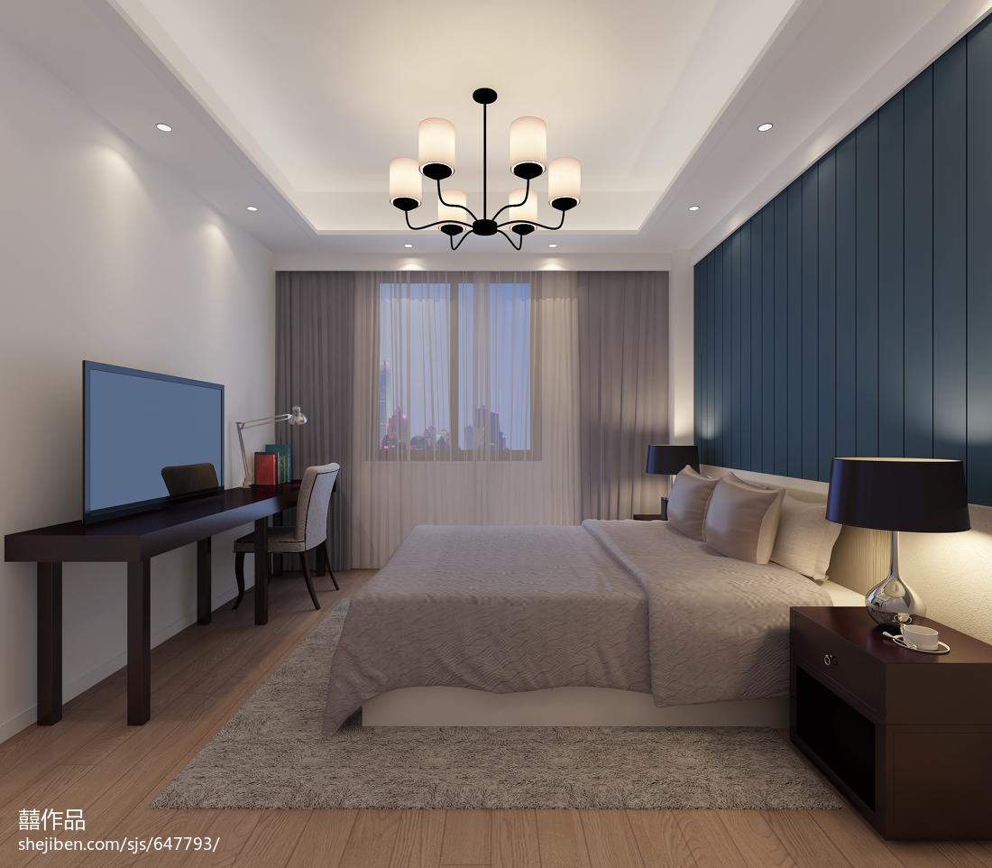简约风格卧室装饰图片欣赏