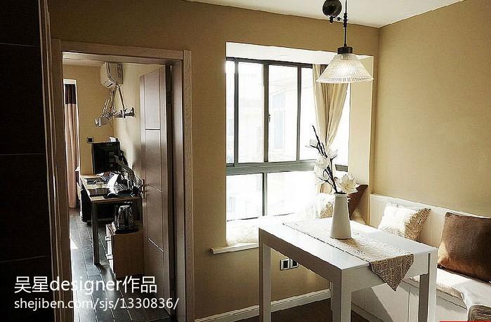 70平米小户型客厅餐厅装修效果图大全2013图片