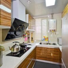 精选92平米三居厨房混搭装修设计效果图片