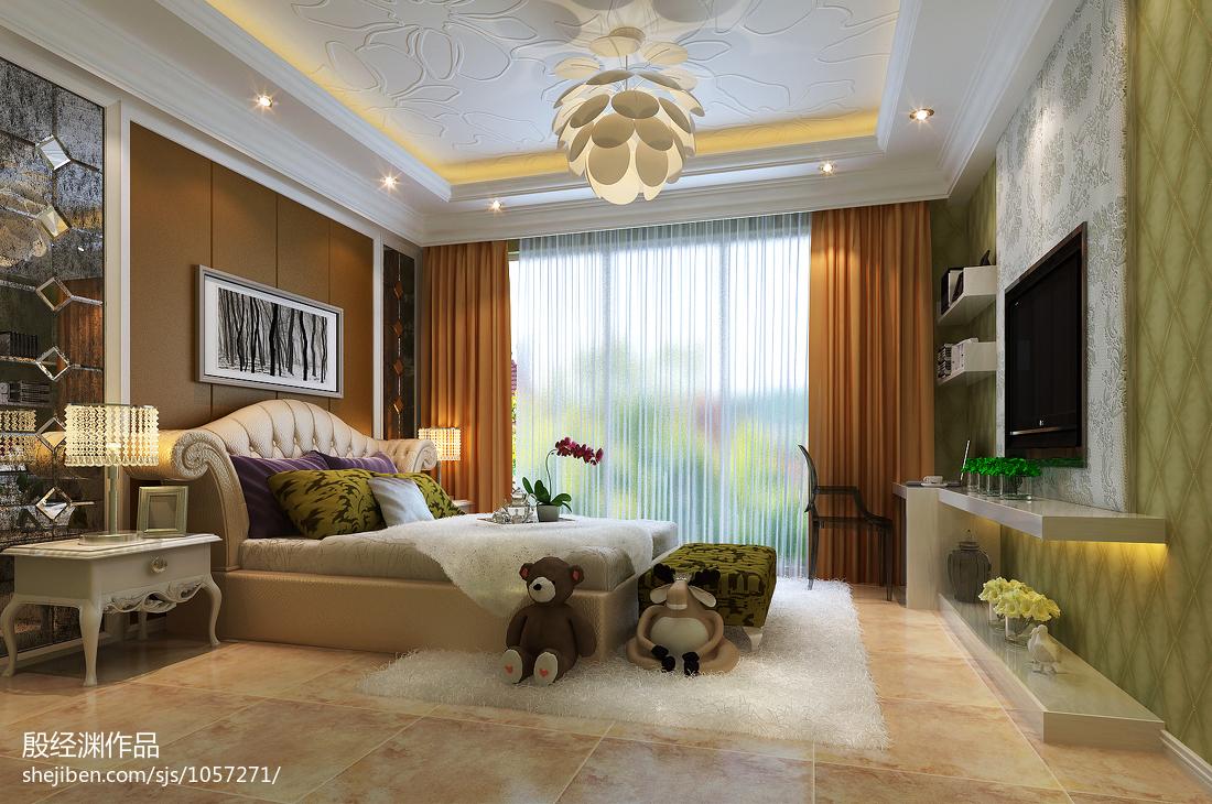 现代成熟设计风格卧室