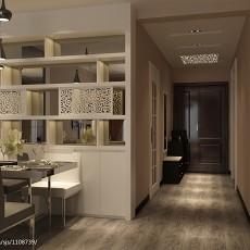 后现代室内过道玄关设计装修效果图