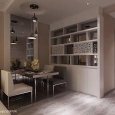 后现代室内空间餐厅经典装修设计效果图