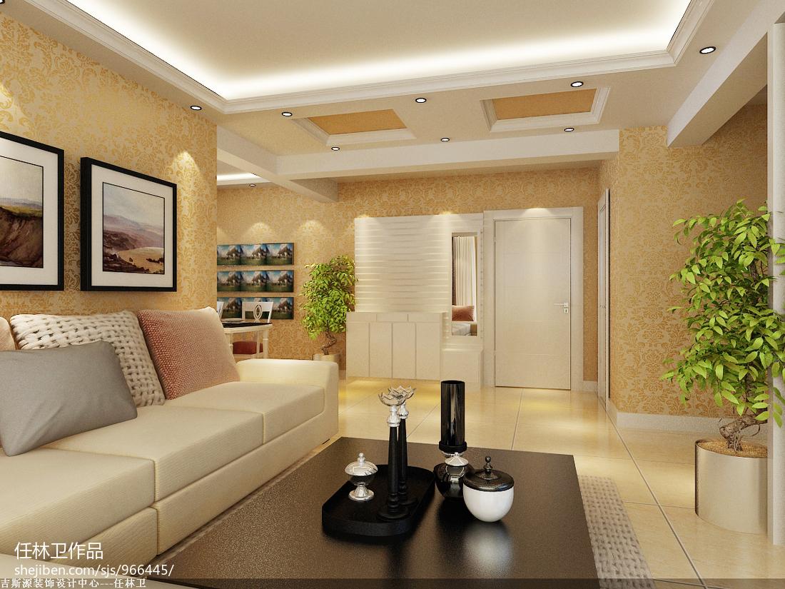 美式风格客厅效果图装修
