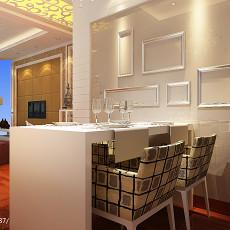 精选面积87平新古典二居餐厅装修实景图片